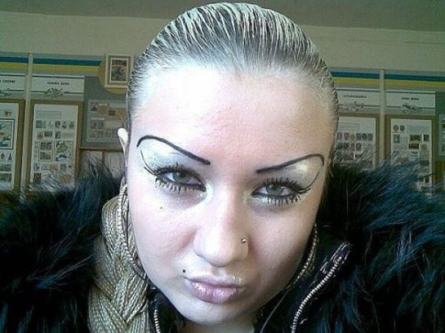 Worst Eyebrow Fails Best Eyebrow For You - 28 hilarious eyebrow fails