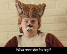 what does the fox say video?