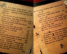 A menu from a London Brothel from 1912 - The dirtiest thing you will read all day! - Imgur